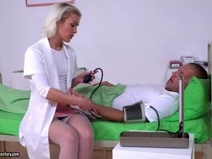 Hungarian Nurse Cecilia Scott Takes Double Penetration In The Hospital