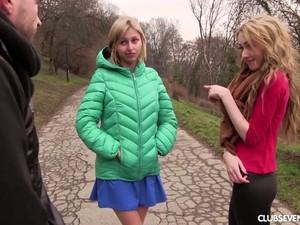 Sociable Vlada B Is Invited For Such A Pleasant MFF Threesome