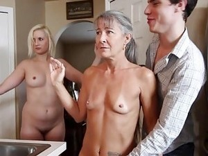 A Hot Taboo Threesome That Stays Between Mother And Son