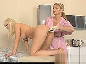 Hot Blonde Babe Fucked By Doctor
