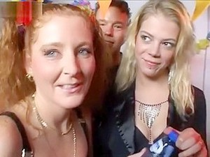 Dutch Sisters Have A Gangbang