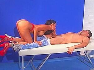 Hot Latin Nurse Anaid Seduces Innocent Patient