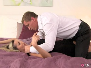 Nancy & Steve In Pantyhose Lust - MomXXX