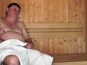 Cute Chick Sucks Fucks Ugly Dude In A Sauna