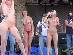 Fully Nude Biker Chick Contest 2nd Day Abate Iowa 2016 - NebraskaCoeds