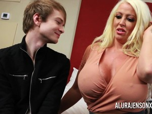 More Often Than Not One Cock Will Not Satisfy The Big Tit Blonde Pornstar Alura Jenson