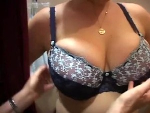 Trying On Bras