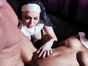 Brad Newman Bangs Jessica Jaymes And September Reign Dressed As Sexy Nuns