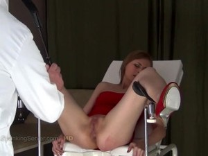 Girl Punished On Gyno Chair