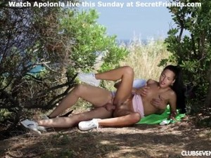 Spanish Super Star Apolonia Gets A Big Cock