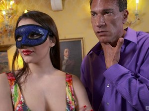 Great Double Penetration Experience For Insatiable Valentina Nappi