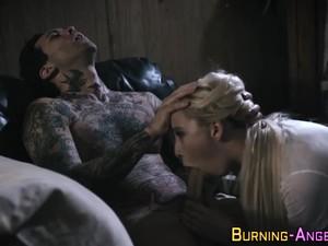 Tattooed Goth Ass Banged
