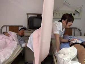 Hikaru Ayami The Pretty Japanese Nurse Gets Fucked Hard