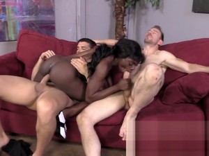 Ebony Teenager Face Spunk