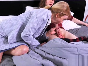 Nurse Erica Lauren Makes A House Call For A Younger Guy