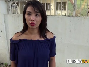 Young Asian Hottie Is Discovered In The Street By A Caucasian Guy.