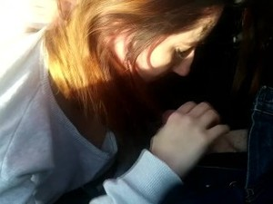 Polish Young Slut Giving Blowjob In Car. Rough. Bit Tits. Slapping.