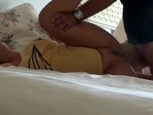 Stepbrother Fuck StepSister Ass While She Sleeping -Anal Sex