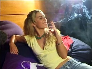 Stunning Smoking Bitch 1