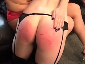 Marie Gets Spanked Hard By Boss At Work