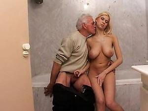 Teen Sex With Old Man In Bathroom