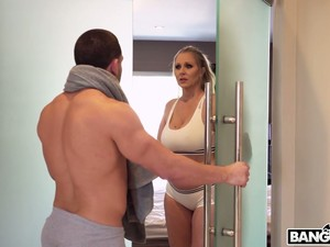 A Very Hot Scene In Which Julia Ann And Her Lover Have Sex In The Shower