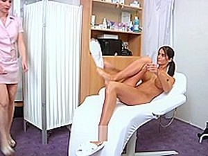 Gyno-X Nessa Devil - Medical Checkup, Pee Sample