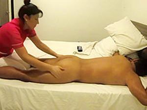 My Bf Getting A Nice Massage