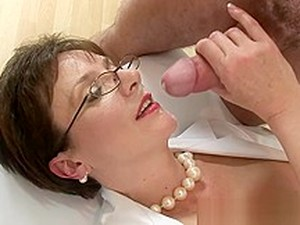 Lady Sonia Nurse Blows Young Man