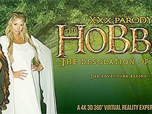 Anya Olsen  Courtney Taylor In The Hobbit: The Desolation Of Cock - VRBangers