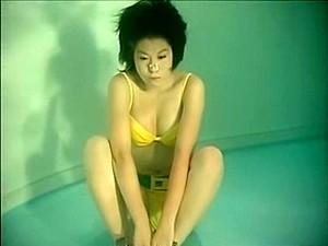 Asian Girl Underwater 1
