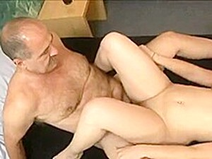 OLD MAN SUGAR DADDY FUCK HIS FREIND;S DAUGTHER