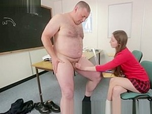 SPH - Teacher Wanted To Fuck Student, But His Dick Is Too Small For Her.