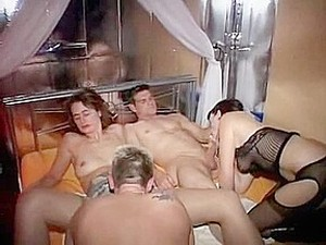 Naughty Swingers Having A Party