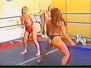 3 Women Wrestling