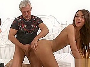 Grandpa Fucks Teens Alexis Brill, Meg Magic, Rosalina Love