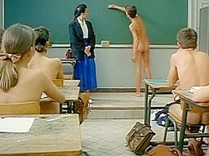 Catherine Aymerie Getting Naked In Classroom In Front Of Everyone