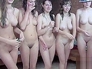 Russian Or Ukrainian Nude Girls Perform
