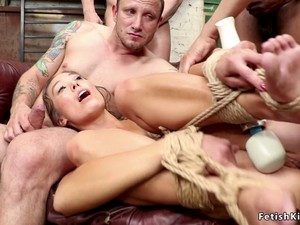 Tied Up Spinner Rough Orgy Banged