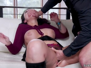 Bf Bangs Teen And Her Mom Therapist