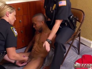 Milf Sub And Police Criminal First Time Black Male Squatting In Home Gets Our Milf