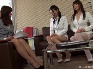Kudou Misa Shows Her Flexible Body And Ideas During The Lesbian Fuck