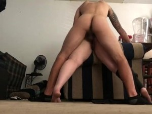 Step Mom Bends Over And Takes Rough Doggy Style Then Moans Passionately