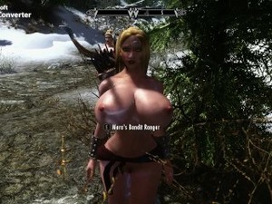 Skyrim -New Milk Maids In Training And Growing Tiddies! Pt2