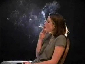 Young Woman Loves Smoking (HH-32)