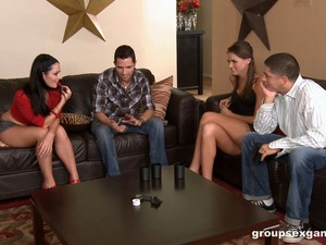Raunchy Foursome With The Great Tori Black And Sophie Dee