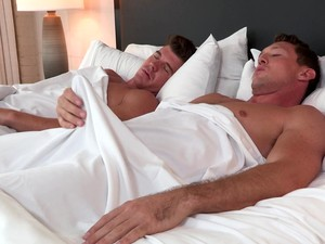 Mature Gay Couple Suck Each Others Morning Wood At A Hotel Room