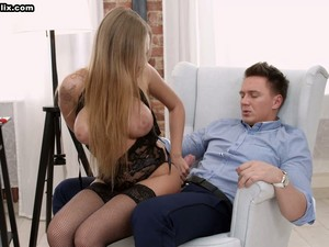Appetizing Big Breasted Cowgirl Katarina Muti Desires To Be Analfucked Today