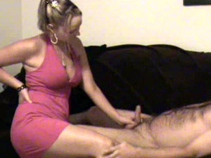 Petite Blonde Wife Films Herself Sucking My Dick On The Couch