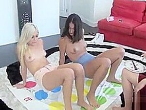 Teen Lesbians Play A Dirty Game